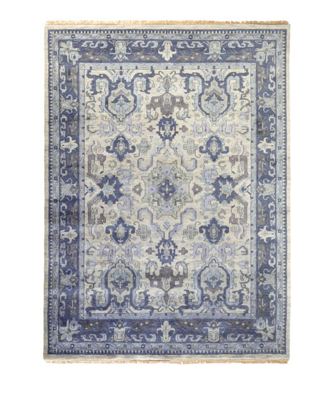 "Castle Hand-Knotted Rug, 3'9"" x 5'9"""