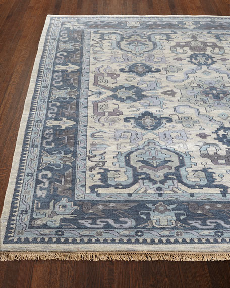 "Castle Hand-Knotted Rug, 5'6"" x 8'6"""