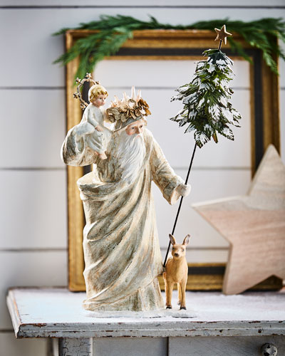 Peaceful Christmas Santa