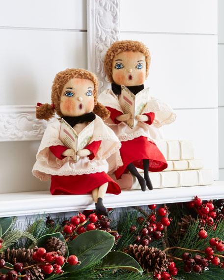 C & F Enterprises Harmony Caroling Girl Doll