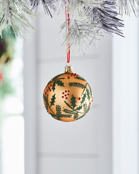 Christborn Wegner Red & Green Collection Matte Golden/Mistletoe