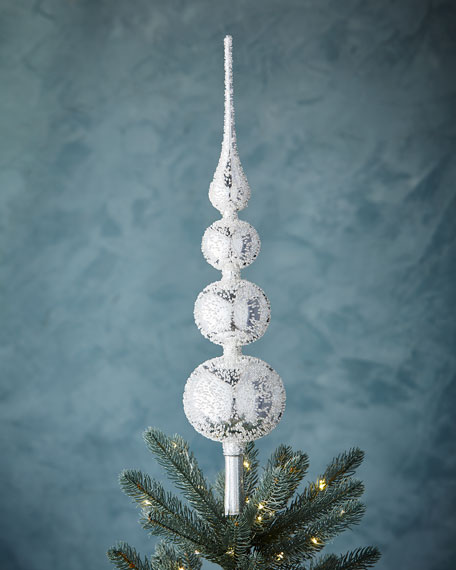 Christborn Wegner White & Silver Collection Silvery Finial