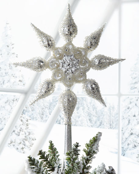 Christborn Wegner Glitz & Glam Star Tree Topper
