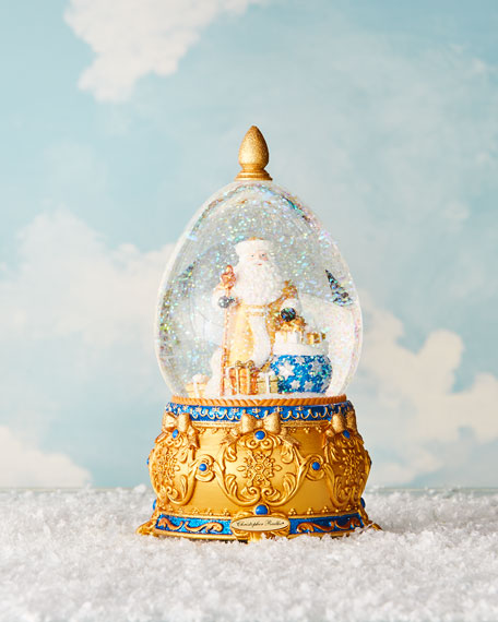 Christopher Radko Father Frost Christmas Snow Globe
