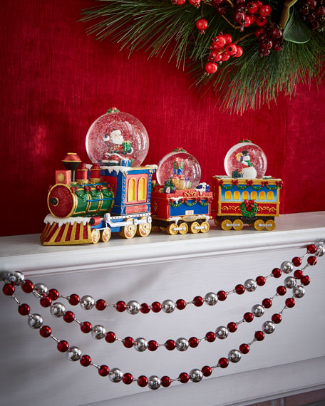North Pole Express Snow Globe