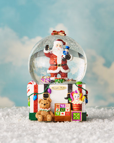 Christopher Radko Treasure for Tots Snow Globe