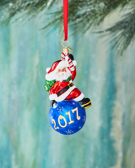 Christopher Radko Having a Ball! 2017 Christmas Ornament