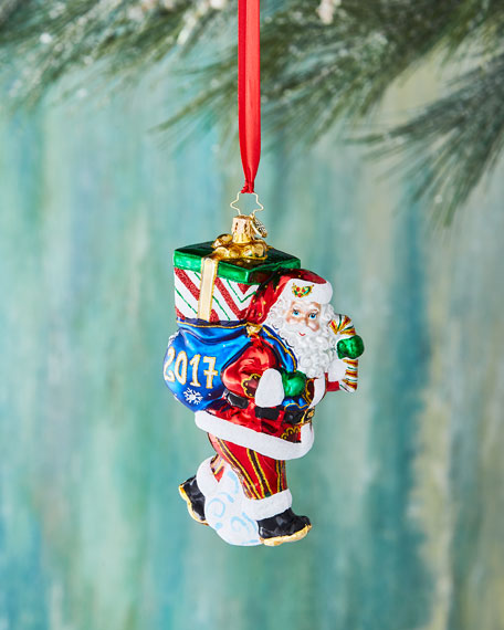 Christopher Radko Perfect Timing Nick 2017 Ornament