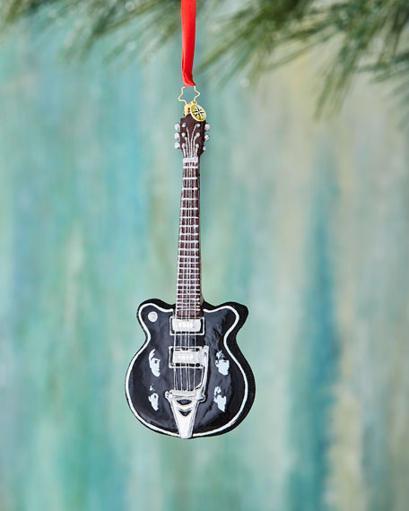 Christopher Radko Beatles Guitar Ornament