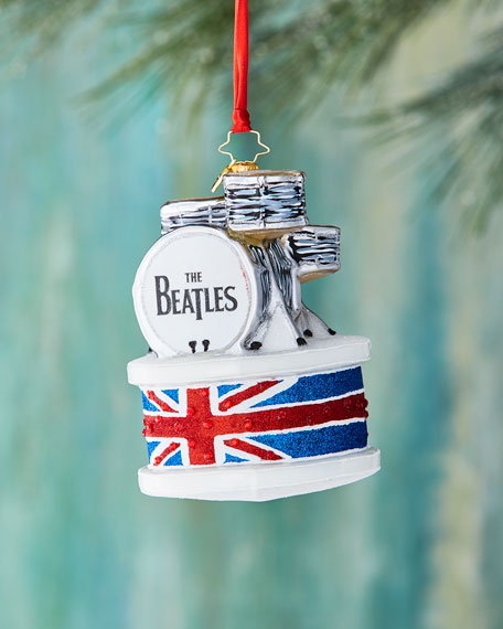 Christopher Radko Beatles Ringo Drum Set Ornament