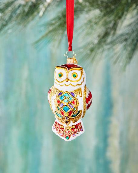 Owl Fly Away Ornament