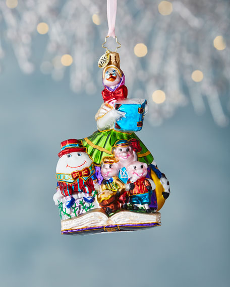 Christopher Radko Mother Goose Christmas Ornament