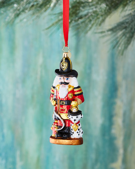 Where's the Fire? Nutcracker Christmas Ornament