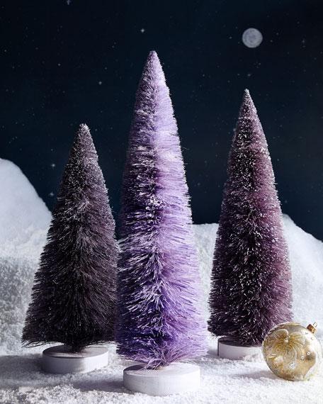 Set of 3 Large Trees, Purple