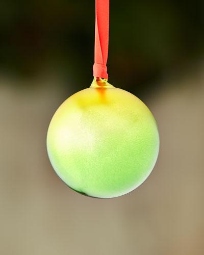 Ombre Ball Ornament, Green