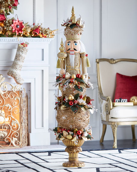 Gold & Glitter Collection Nutcracker, 65""