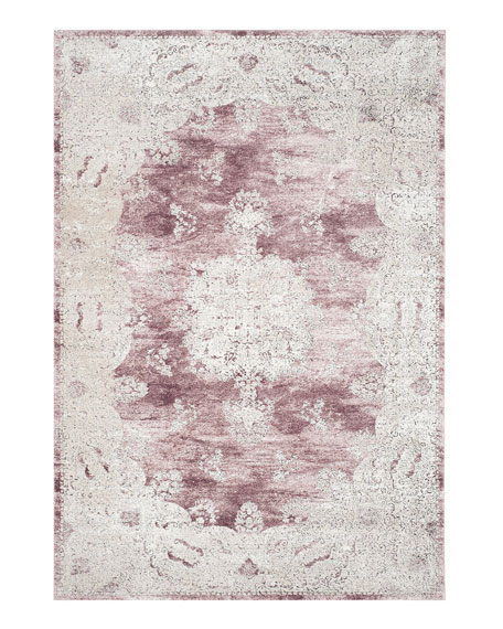 "Kailey Blush Rug, 6'7"" x 9'"