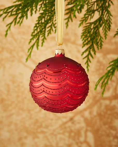 Red Swag Ornament