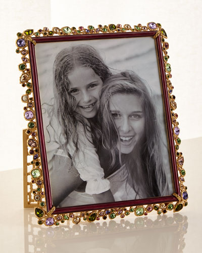 Bejeweled Picture Frame Brocade  8 x 10