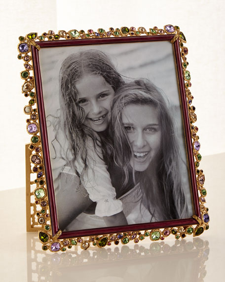 "Bejeweled Picture Frame Brocade, 8"" x 10"""