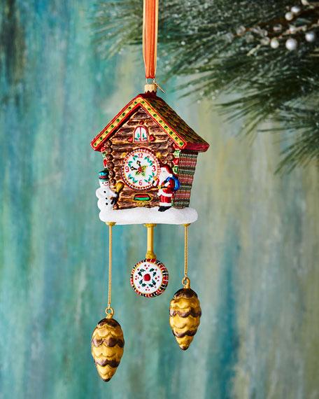 John Huras Cuckoo Clock Ornament
