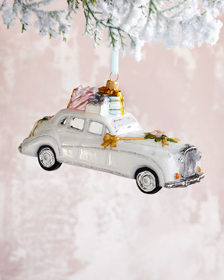 Wedding Car Ornament