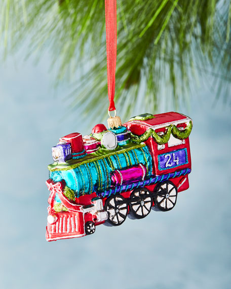 Bright Train Ornament