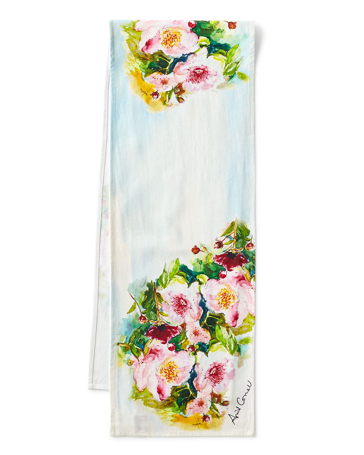 Peony Table Runner 72 L
