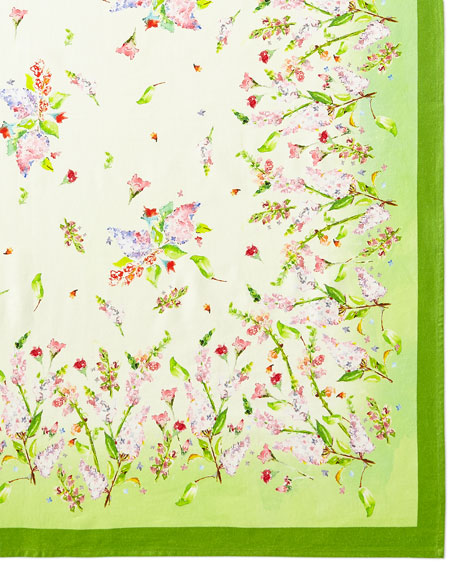 April Cornell Snapdragon Tablecloth, 54