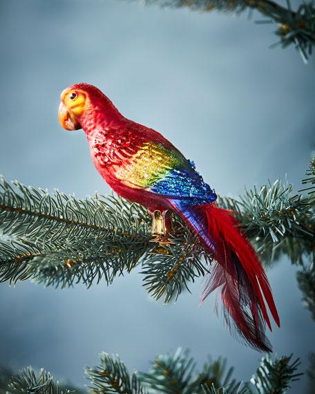 Parrot Clip Ornament