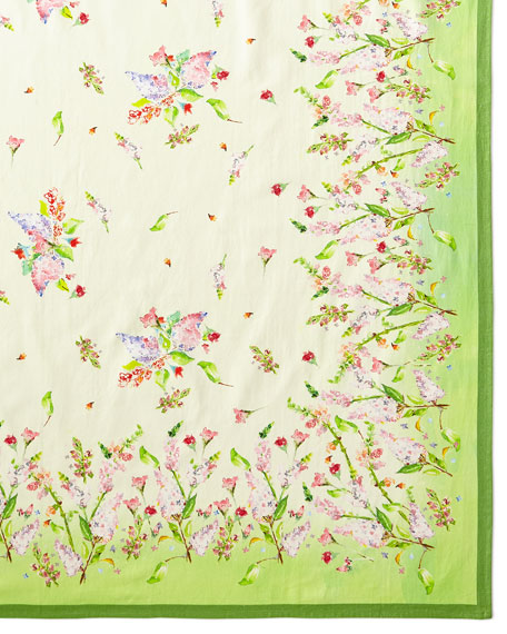 April Cornell Snapdragon Tablecloth, 60