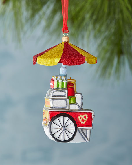 Hotdog Stand Ornament