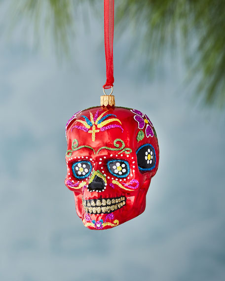 Mexican Skull Ornament