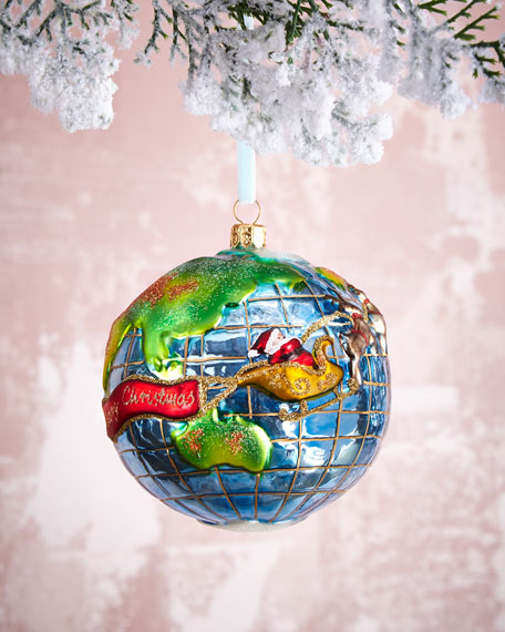 """Santa's Journey"" Ornament"