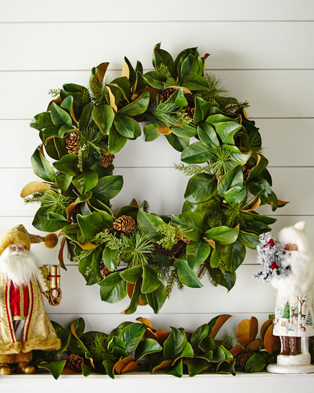 Wreath Magnolia Leaf 30 (Mul