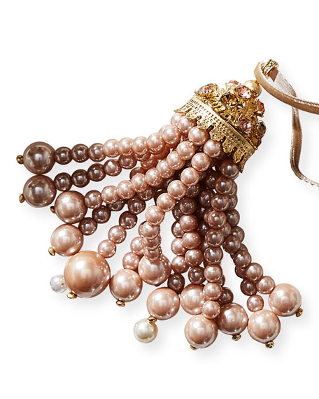 Joanna Buchanan Hanging Pearly Tassel Ornament