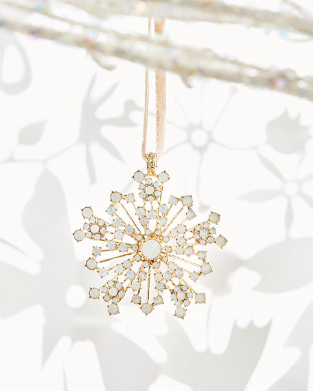 Joanna Buchanan Sparkle Snowflake Ornament