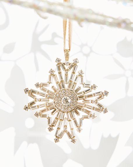 Joanna Buchanan Baguette Snowflake Ornament