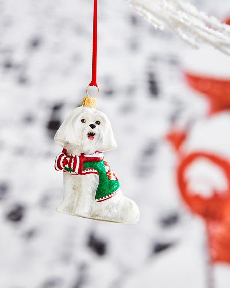 Joy To The World Collectibles Maltese with Candy