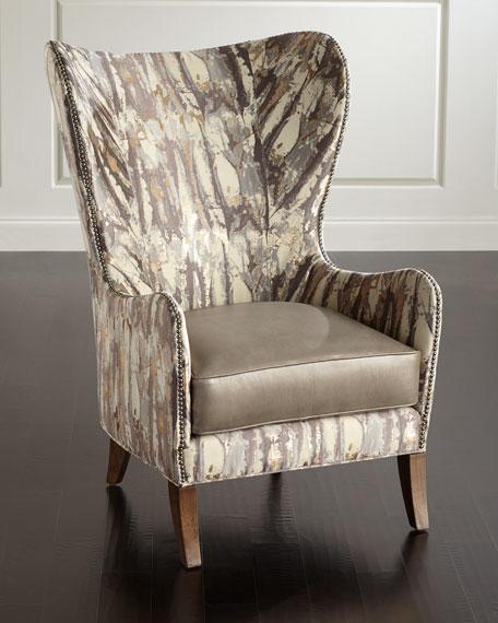 Inigo Glimmer Wing Chair