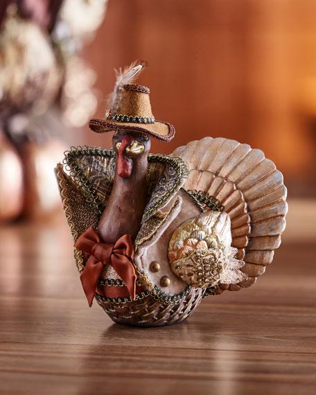 Small Resin Turkey