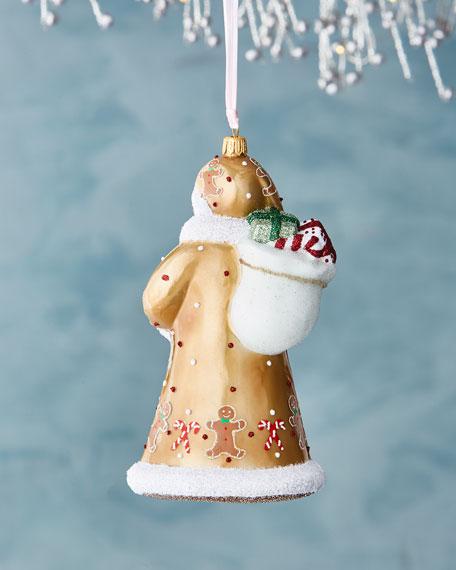 Gingerbread Santa Ornament