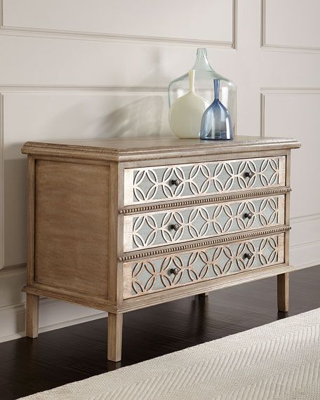 Cicley Carved 3-Drawer Chest