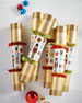 Traditional Nutcracker Christmas Crackers, Set of 6
