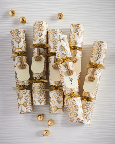 All that Glitters Christmas Crackers, Set of 6