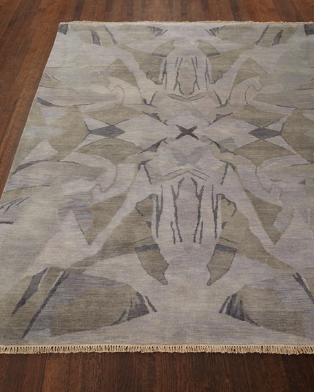 Luna Hand-Knotted Rug, 9' x 13'