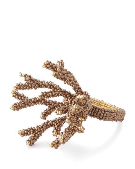 Coral Branch Napkin Ring