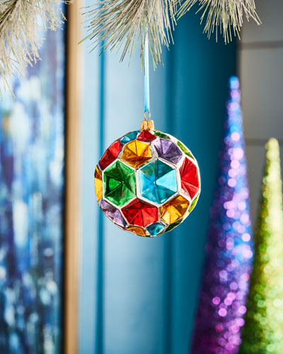 Playful Brights Collection Kaleidoscope Ornament