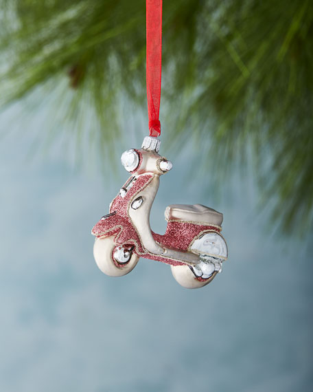 Pink Scooter Ornament