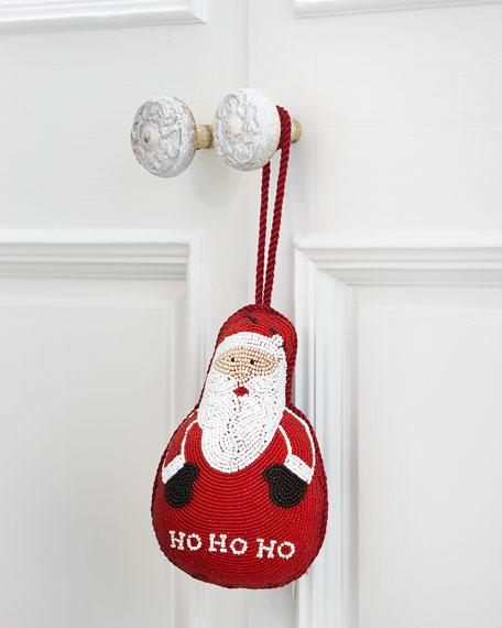 Doorknocker Santa cut out wi